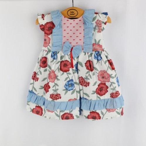 ensemble bébé fille 100%coton Ref.: 50219