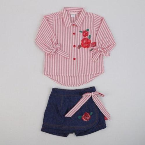 Robe short et chemise bébé fille Ref.: 502-426
