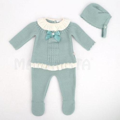 ensemble bébé coton 3 pieces plusieurs coloris Ref.: 2504-C888