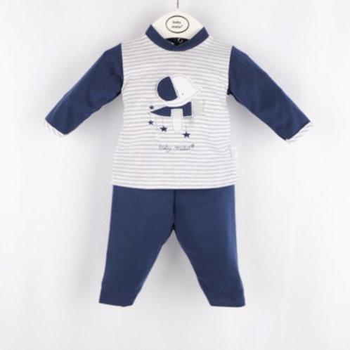 ensemble bébé garçon coton avion Ref.: 618-20112