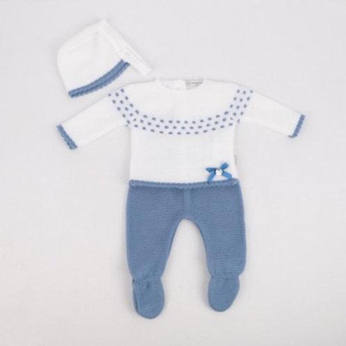 Ensemble bébé garçon laine Ref.: 2504-46
