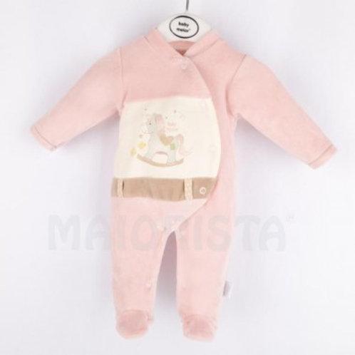 ensemble coton bébé poney velours Ref.: 618-20234