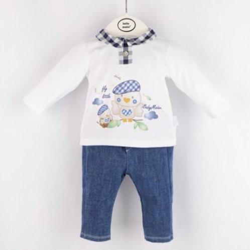 pantalon jean et haut bébé garçon Ref.: 618-20171