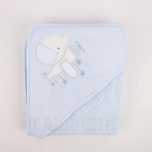 serviette de bain bébé fille garçon 80x80 Ref.: 2489-397