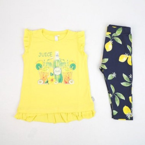 Legging et tshirt fille 2 a 8 ans Ref.: 2422-129