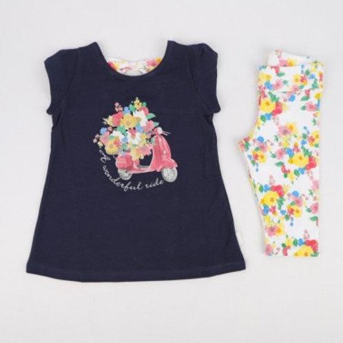 Tshirt et legging fille 2 ans Ref.: 2422-97