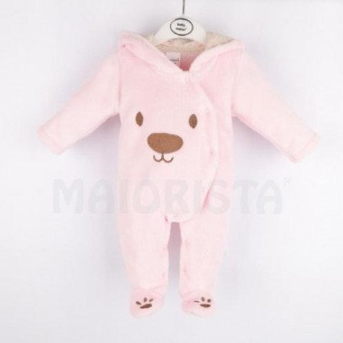ensemble coton bébé ourson avec capuche Ref.: 618-20257