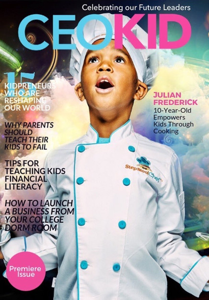 Cover of CEOKID Magazine