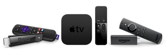 ROKU APPLE TV AMAZON