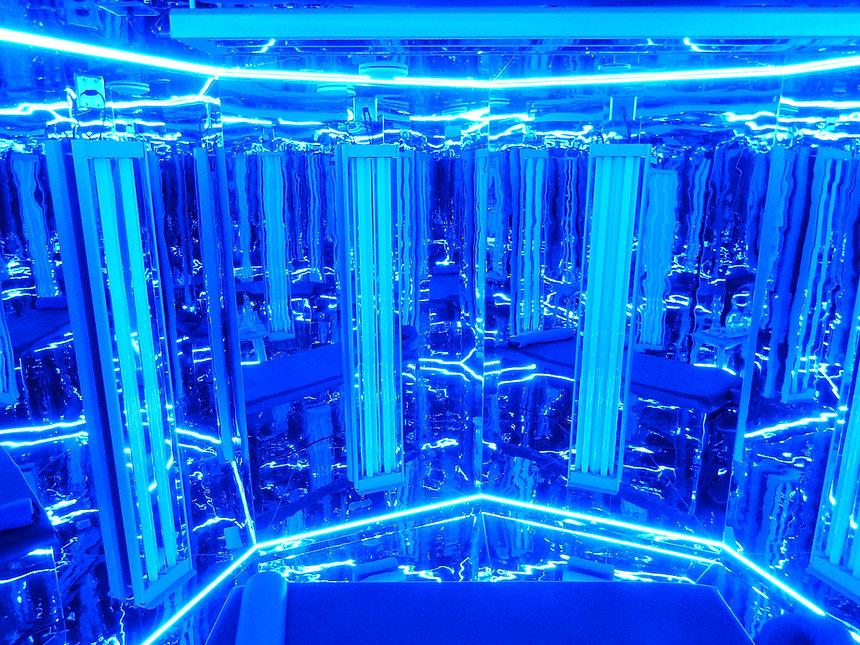 Blu Room Lugano. La stanza blu che eleva le frequenze