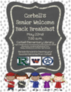 Corbell Senior Welcome Back Breakfast (1
