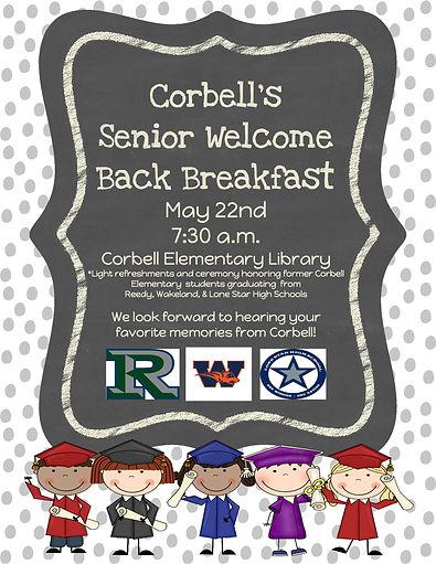 Corbell Senior Welcome Back Breakfast (1