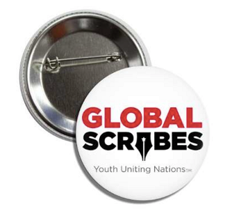 Global Scribes Pin