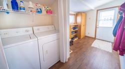 Laundry & Rear Entry