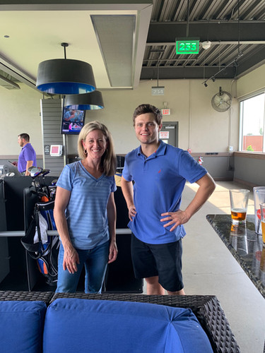 Top Golf Drew and Becky