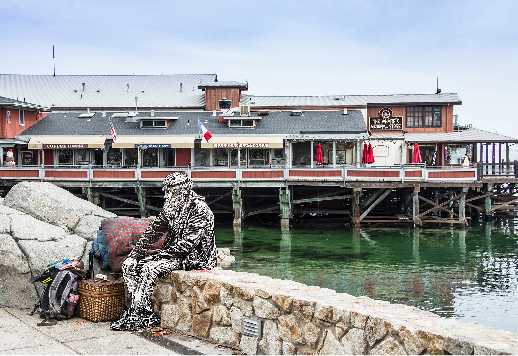 Homeless in Monterey