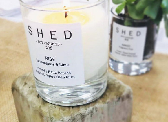 SHED 'Rise' Soy Candle - 170ml