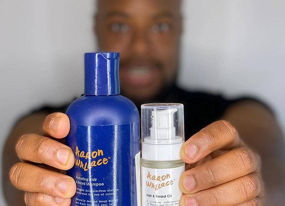Aaron Wallace Hydrating Hair & Beard Shampoo - 250ml
