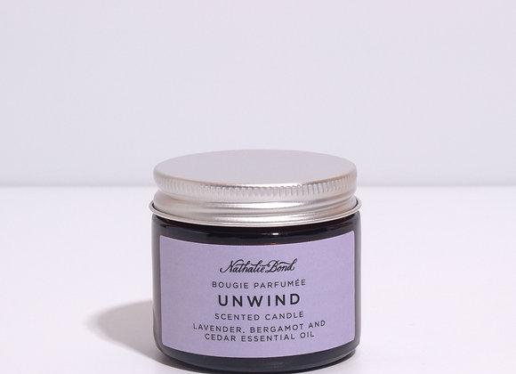 Nathalie Bond 'Unwind' Natural Candle - 60ml
