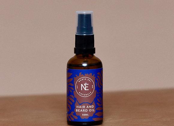 Nadia Esi Hair & Beard Oil - 50ml
