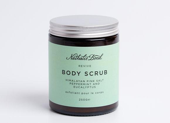 Nathalie Bond Himalayan Pink Salt, Peppermint & Eucalyptus Body Scrub