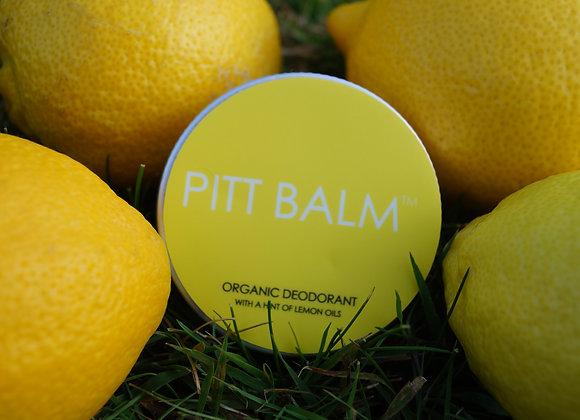 Pitt Balm Natural Deodorant - Lemon
