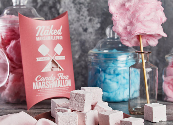 The Naked Marshmallow Co Candy Floss Marshmallows