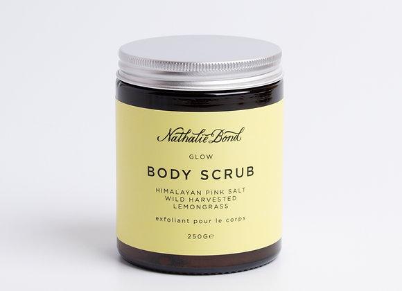 Nathalie Bond Himalayan Pink Salt & Wild Harvested Lemongrass Body Scrub