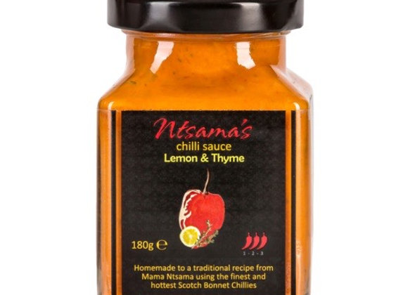 Ntsama's Lemon & Thyme Chilli Sauce - 180g
