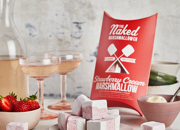 The Naked Marshmallow Co Strawberry Cream Marshmallows
