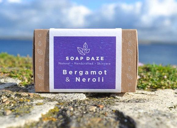 Soap Daze Bergamot & Neroli Handmade Natural Vegan Soap Bar