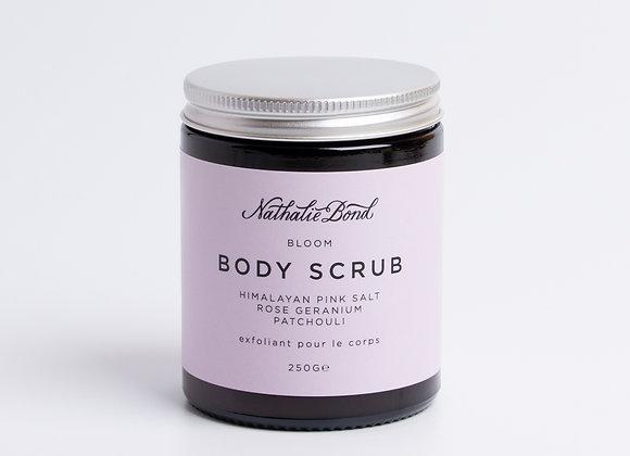 Nathalie Bond Himalayan Pink Salt, Rose Geranium & Patchouli Scrub