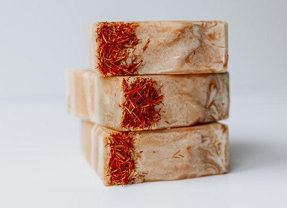 Belle Regime Luxury, Vegan Turmeric & Sweet Orange Soap - 100g