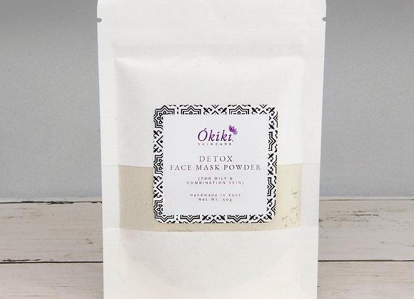 Okiki Skincare Detox Face Mask Powder - 50g