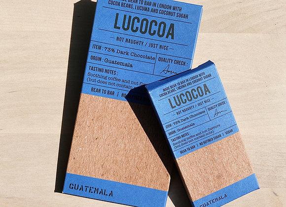 Lucocoa 73% Guatemala Dark Chocolate Bar - 50g