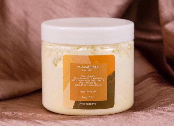 Okin Epidermis 'Re-Moisturise' Whipped Shea & Cocoa Hair Butter - 200g