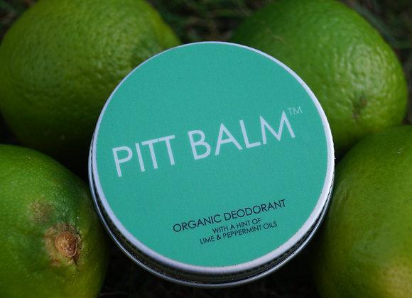 Pitt Balm Natural Deodorant - Lime & Peppermint