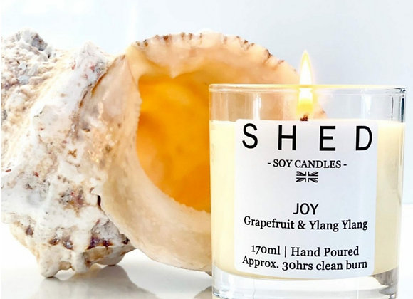 SHED 'Joy' Soy Candle - 170ml