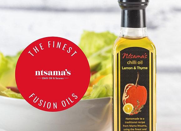 Ntsama's Lemon & Thyme Chilli Oil- 180g