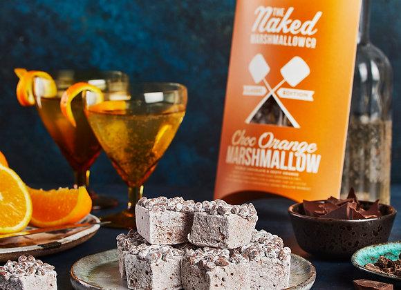 The Naked Marshmallow Co Chocolate Orange Marshmallows