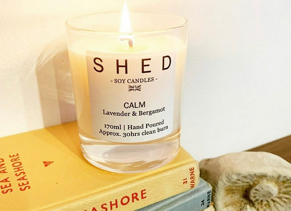 SHED 'Calm' Soy Candle - 170ml