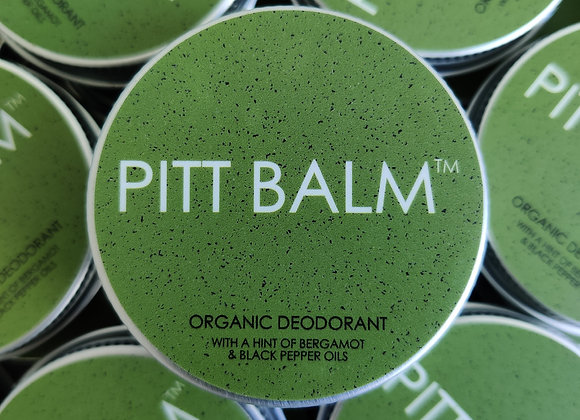 Pitt Balm Natural Deodorant - Bergamot & Black Pepper