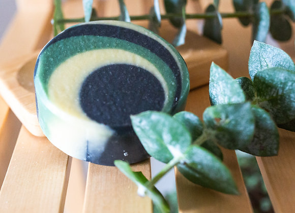Belle Regime Luxury, Vegan Activated Charcoal, Aloe Vera & Tea Tree Soap - 100g