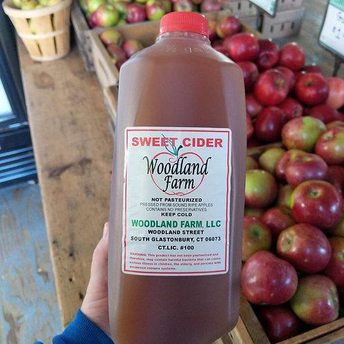 Unpasteurized Apple Cider