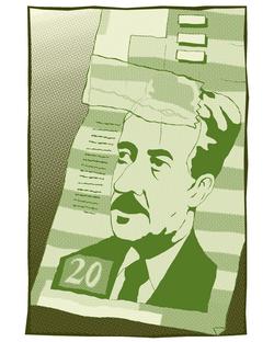 Digital illustration for Issues Mag