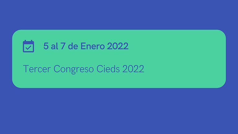 Congreso Internacional Cieds 2022