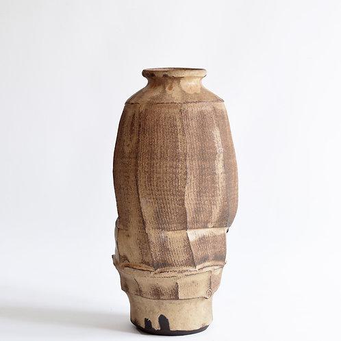 Faceted Sculptural Vase