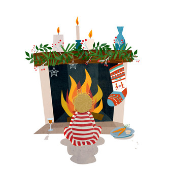 Christmas Eve illustration