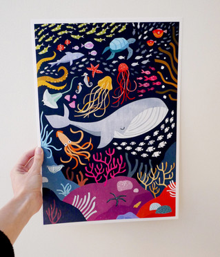 Under the Sea print
