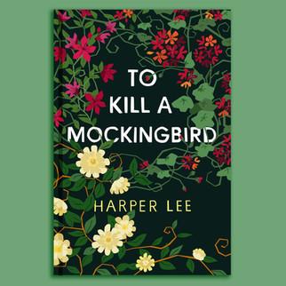 To Kill a Mockingbird illustrated cover